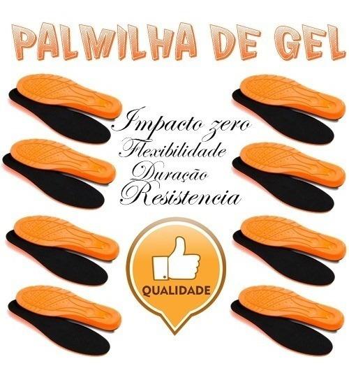 Palmilha Gel Anti-impacto 8 Unidades