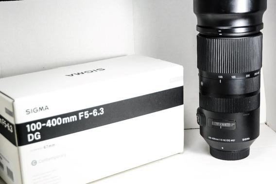 Sigma 100-400 F5-6.3 Dg Contemporary Muito Nítida Para Nikon