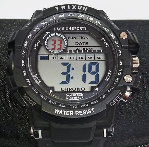 Reloj Deportivo Marca Taixun Water Resist Ch6