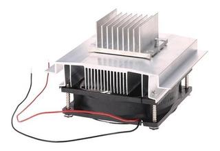 Kit De Refrigeración Diy 12 V Ideal Celda Peltier Disipador