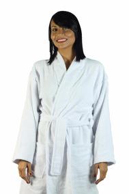 Roupão De Banho Unissex Plus Size 100% Algodão Atoalhado Ori