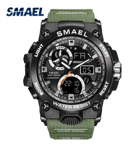 Relógio Masculino Smael Shock Militar Esportivo