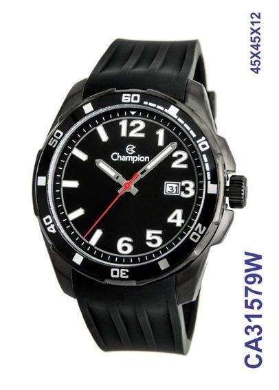 Relógio Champion Masculino Pulseira Silicone Ca31579w