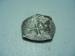 Moneda Macuquina 2 Reales