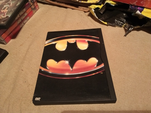 Imagen 1 de 3 de Batman Dvd 1° Edicion 1989 Tim Burton Caja Cartón Orig  Gusx