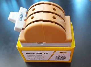 Cuchillas Doble Pase 3x100 100 Amperes