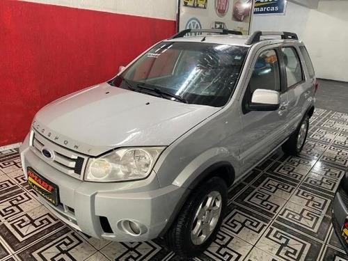 Ford Ecosport Xlt 2.0 16v (flex) 2010/2011 Prata