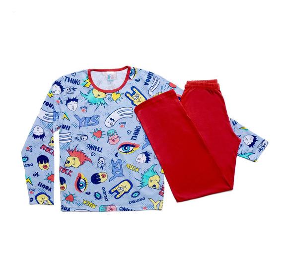 5 Pijama Infantil Menino Menina Roupa De Dormir Atacado