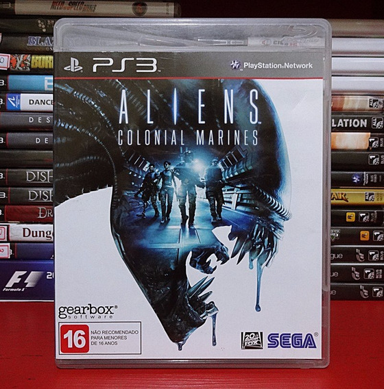 Aliens Colonial Marines Ps3 Play Station 3