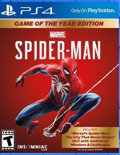 Juego Playstation Spider Man Ps4 / Makkax