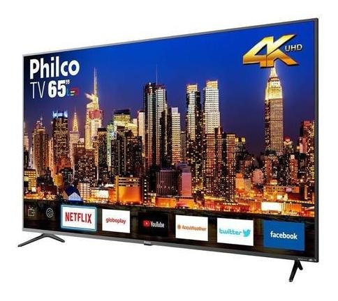 Oportunidade!! Smart Tv 65 Led Philco Ptv65f80sns 4k Netflix
