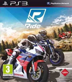Jogo Ps3 Ride Código Psn Play 3 Envio Rápido Mídia Digital