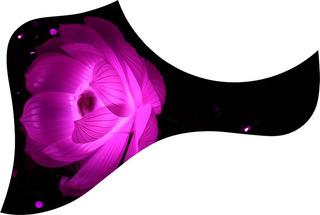 Escudo Palheteira Resinada Violão Aço Estilo Taylor Psy Rose