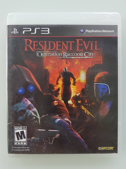 Resident Evil Operation Raccoon City Ps3 Original