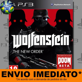 Ps3 Wolfenstein The New Order | Orignal Psn - Envio Imediato