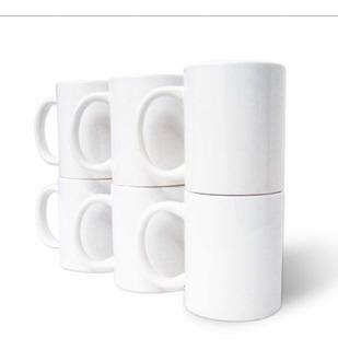 Tazas Blancas Para Sublimar 6 Unidades