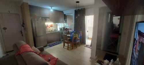 Apartamento Com 2 Dormitórios À Venda, 53 M² Por R$ 235.000 - Jardim San Remo - Bady Bassitt/sp - Ap1471