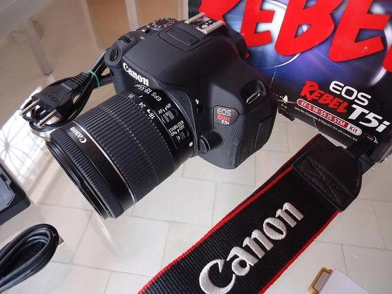 Canon T5i A Mais Nova À Venda 2 Mil Cliques