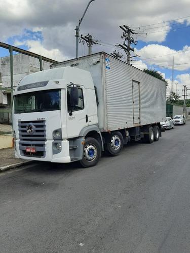 Vw 24280 Bitruck 2012 Com Bau De 9,00 Mts.