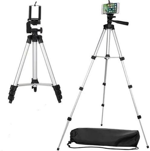 Tripode Para Celulares Y Camaras Digitales Tf-3110 1.20mts