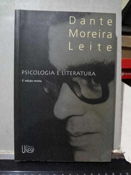 Livro Psicologia E Literatura Dante Moreira Leite 5º Ed. Rev