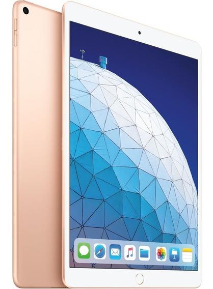 iPad Air 10,5 64gb Wifi Dourado 2019 Lançamento Apple