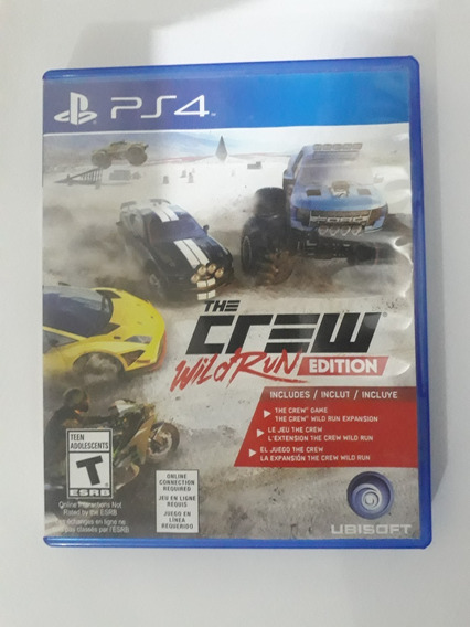 The Crew Wild Of Run Edition Ps4 Física