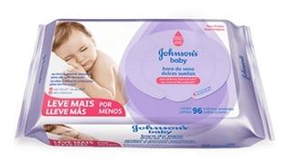 Toallitas Humedas Bebe Johnsons Baby Violeta 96 X 12 Paquete