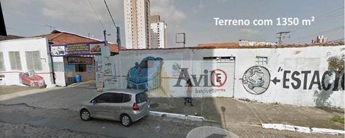 Terreno À Venda, 1350 M² Por R$ 6.750.000 - Chácara Califórnia - São Paulo/sp - Te0056