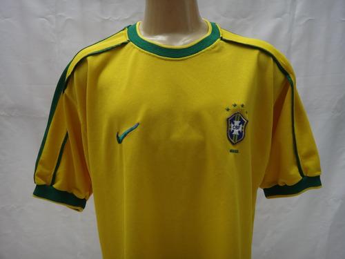 Camisa Selecao Brasileira 1998 Brasil Nike Copa Do Mundo Gg Mercado Livre