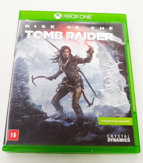 Rise Of The Tomb Raider Xbox One Mídia Física