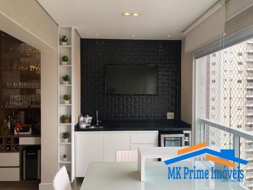 Imagem 1 de 15 de Lindo Apartamento Decorado Com 109 M² No Lorian Boulevard Em Osasco! - 929
