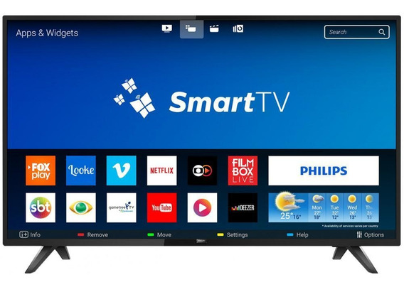Smart Tv Led 32 Philips 32phg5813/78 - Conversor Digital Wi-fi 2 Hdmi 2 Usb