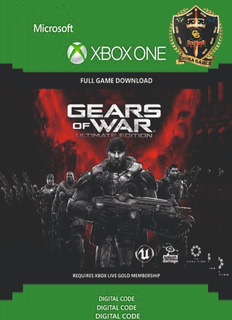 Gears Of War Ultimate Edition Xbox One Codigo