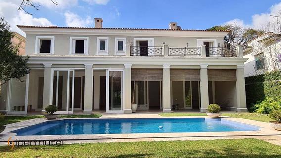 Linda Casa Com 4 Dormitórios À Venda, 750 M² - Jardim Europa - São Paulo/sp - Ca0096