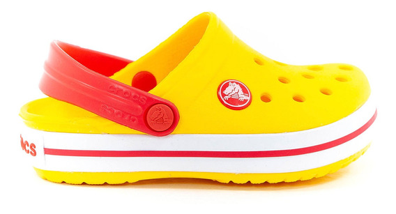 Crocs Crocband Clog Amarillo Nene Nena