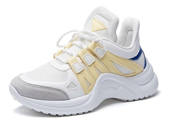 Malla Transpirable Zapatos Casuales De Mujer Zapatillas Vulc