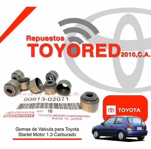 Goma Valvula Toyota Starlet