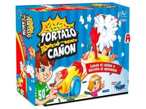 Tortazo Cañonazo Juego Pastelazo De Mesa Original Full