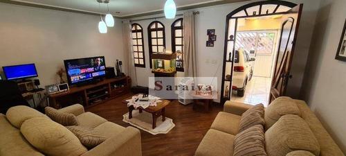Imagem 1 de 30 de Casa À Venda, 172 M² Por R$ 620.000,00 - Jardim Hollywood - São Bernardo Do Campo/sp - Ca0751