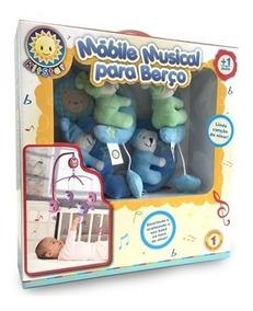 Móbile Para Berço Musical Ursinho Soneca 414s Kitstar