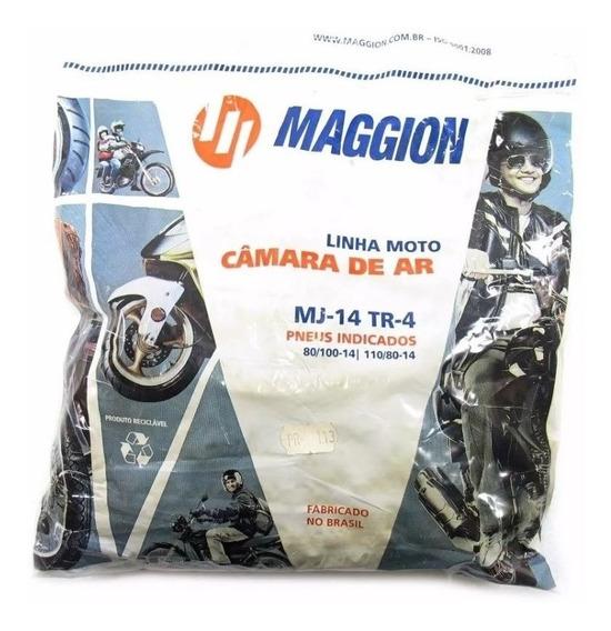 Kit 10 Câmara De Ar Maggion Para Biz 100/125 Pop Traseira