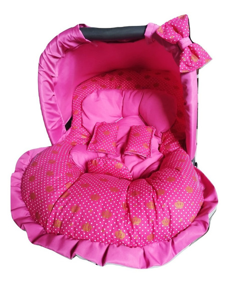 Capa P/ Bebe Conforto Extra Estofada 4itens Meninas