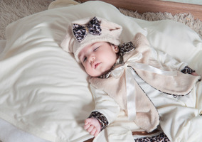 Kit Saída De Maternidade Oncinha Palha Bebê Menina Luxo