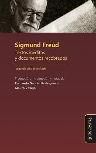 Imagen 1 de 2 de Sigmund Freud. Textos Inéditos Y Documentos Recobrados