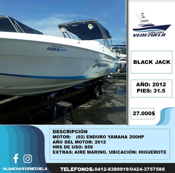Lancha Black Jack Lv87