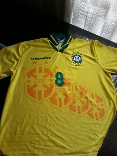 Camiseta Brasil 1994 Dunga