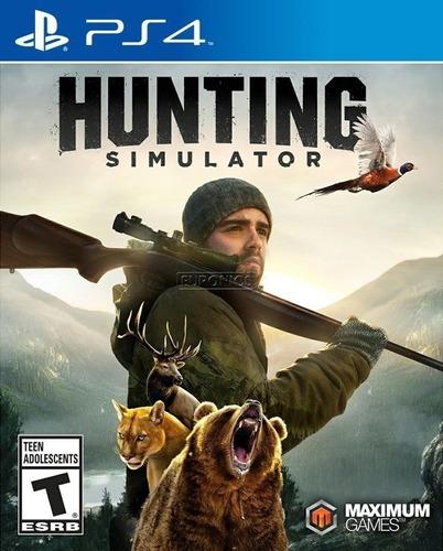 Ps4 Hunting Simulator / Fisico