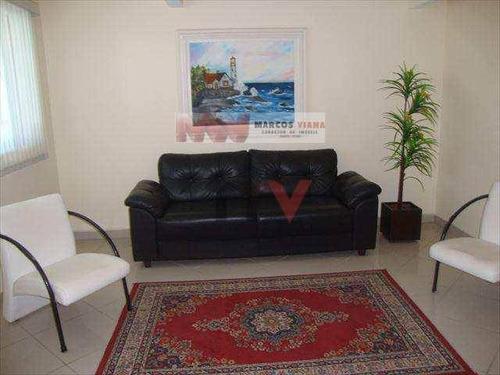 Apartamento À Venda, 65 M² Por R$ 300.000,00 - Vila Assunção - Praia Grande/sp - Ap0845