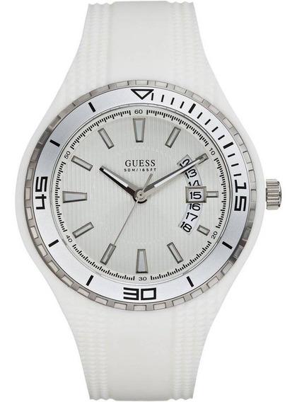 Relógio Guess Mod. W95143g3 Branco Coleçao 2019 Original